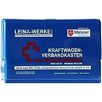 Leina Werke 10057 KFZ-Verbandkasten Leina-Star II, Blau/Weiß/Rot preisvergleich bei billige-tabletten.eu