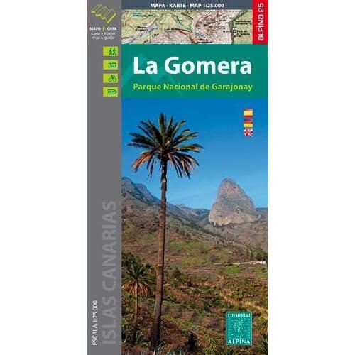 Gomera - PN de Garajonay map& guide 2020