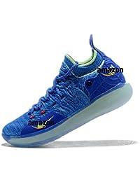 KD 11 Kevin Durant Paranoid AO2604-900 Bright Blue Volt Zapatillas de Deporte para Hombre
