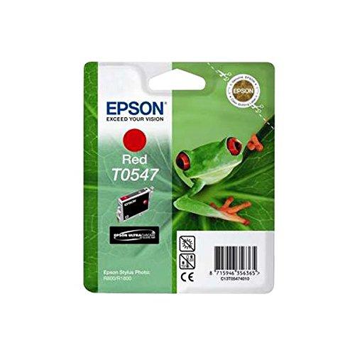Epson T0547 Tintenpatrone Frosch, Singlepack rot