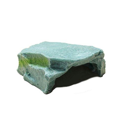 Dpolrs Cave Foro Resina Terrazza per Acquario Turtle Tortoise Ornament Decor