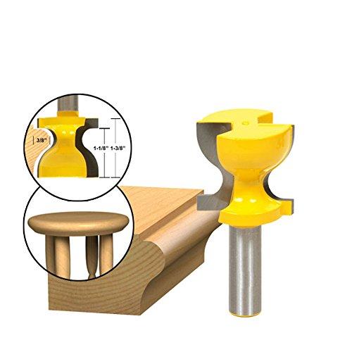 akuta1/2Schaft Fensterbrett, Hocker, Formen & Tür Pull Edge Router Bit C3Hartmetallbestückt Holz Werkzeug Holz-Router Bits