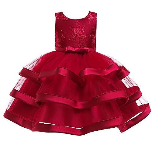 Kleid Kostüm Dance Ball - Jxth Kinderhochzeits-Party-Kleid 2019 Kinder Rock Neue Jahr kostüm kinderbekleidung Schneewittchen Kleid mädchen Weihnachten Kleid Kinder Kleid Abschlussball Dance Ball Geburtstagskleid
