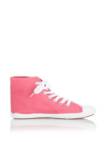Trespass Womens/Ladies Danii Classic Hi Top Casual Sneakers Pink