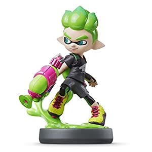 Nintendo amiibo – New Inkling Boy (Neon Green) Import Japan