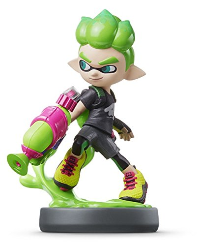 Nintendo amiibo - New Inkling Boy (Neon Green) Import Japan
