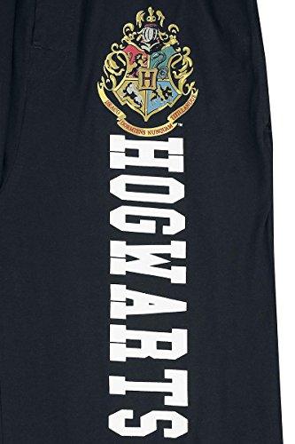 Harry Potter Hogwarts Pyjama-Hose schwarz Schwarz