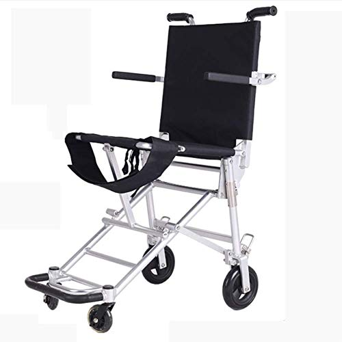 ZLL Medical Rehabilitation Chair, Wheelchair, Lightweight Wheelchair Driving Medical Medical Supplies for Adults, Folding Wheelchair Lightweight Portable Travel Wheelchair