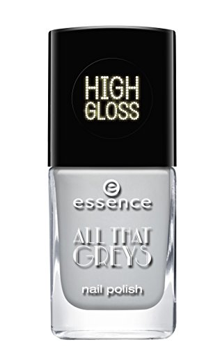 Essence All That Greys Nail Polish – High Gloss – N ° 03 Greyt Times Contenu : 11 ml vernis à ongles Nail Polish
