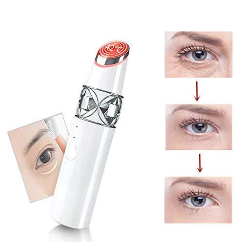 Hongyu 42 ℃ ± 3 ℃ Gesicht Elektrischer Stock, Rod Akustische Schwingungen Plattieren Alterungs, Augemassager Elektrischer Massagestab Auge Für Augenpflege Taschen Knittert Dunkle Kreise Puffiness -
