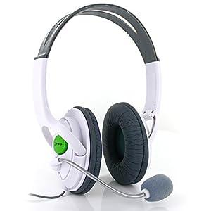 Kopfhörer für Xbox 360 LIVE Stereo Headset mit Mikrofon Spiele Musik