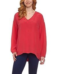 Compagnia Italiana - Blusa de manga larga para mujer, talla 40, color rojo (corallo)