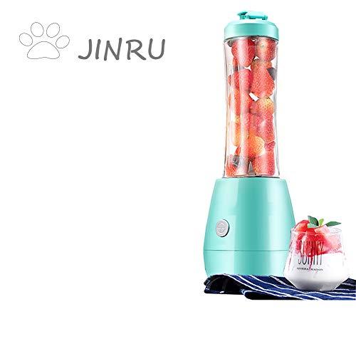 JINRU Exprimidor portátil de Frutas domésticas pequeño automático de Frutas y Verduras de múltiples Funciones Mini Jugo exprimido
