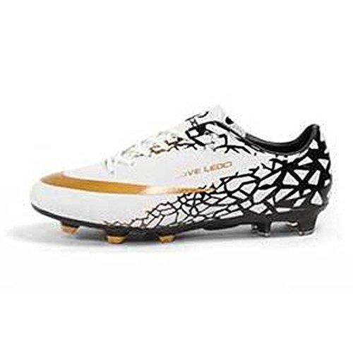 Mr. LQ - dulti di combattimento di scarpe di calcio giovanile White