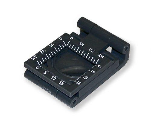 Carson LT-20 LinenTest Fadenzähler 6,5-fach Lupe (20 mm)