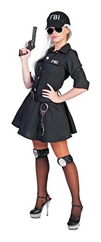 Pierro´s Karnevalshop FBI Agent Kostüm Polizistin für Damen Gr. 40/42