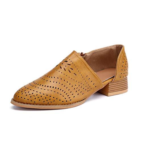 Zapatos Vestir Mujer Planas Derby Transpirable Oxford