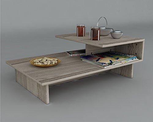 Jardin tavolino basso da salotto materiale in legno - Tavolino divano ...
