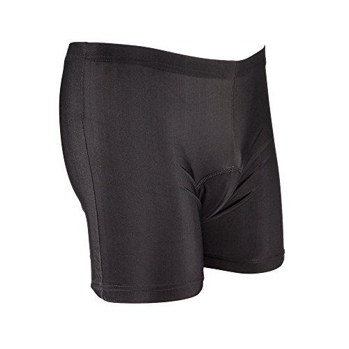 Xcellent Global 3D Pantalón Corto Culote Acolchado Cintura Baja para