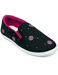 ASIAN Smily-31 Casual Shoes,Slip-on Shoes,Canvas Shoes,Walking Shoes for Women