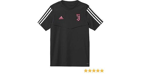 adidas Juventus Tee, Maglietta da Calcio A Maniche Corte Unisex Bambini