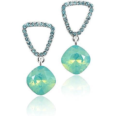 Swarovski elements cristal pendientes para las mujeres