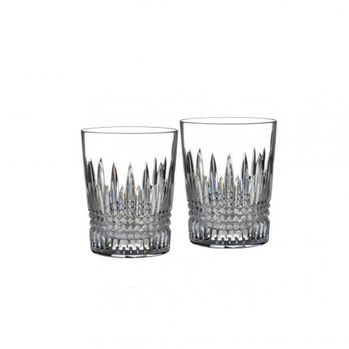Waterford Lismore Diamond Tumbler, Set of 2. by Waterford Waterford Tumbler Set