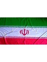 Iran Autofahne mit Befestigungsstab für die Autoscheibe ca. 30 x 45 cm von profimaterial