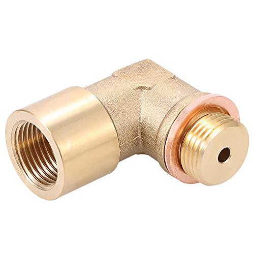 Bogji Inserto del Gas Regolabile Cel Fix Bung Sensore Ossigeno O2 M18 X1.5 prolunga Spacer regolatore di Scarico