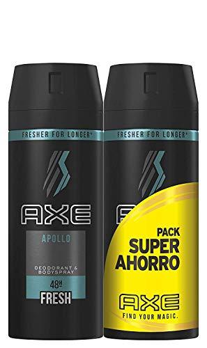 Axe Desodorante Apollo Pack Duplo Ahorro - 150 ml