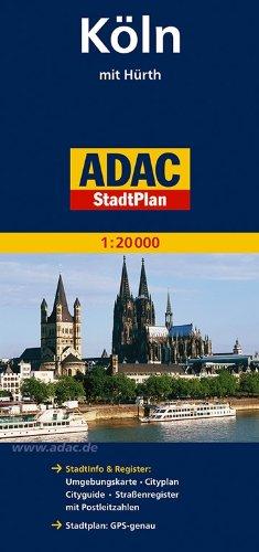 ADAC StadtPlan Köln mit Hürth 1:20 000 (ADAC Stadtpläne)