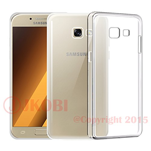 Jkobi(TM) Exclusive Soft Silicone TPU Jelly Transparent Crystal Clear Case Soft Back Case Cover for Samsung Galaxy A5 (2016) A510F-Transparent  available at amazon for Rs.145