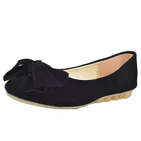 Femmes Chaussures De Printemps, Chaussures De Danse De Ballet Électrique, Lovely Slip Mocassins Chaussures (EU:38,
