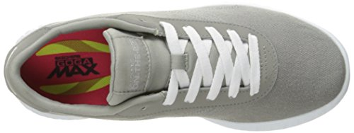 Skechers On The Go Glide Sprint Textile Turnschuhe Gray oQMt3ut20U
