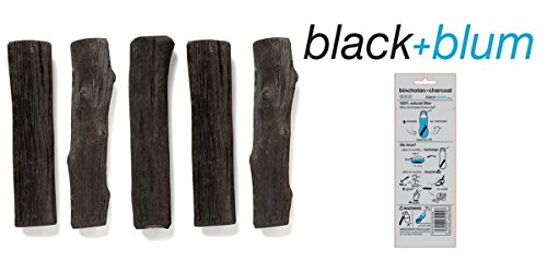 A photograph of Black + Blum Binchotan Charcoal