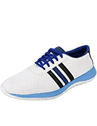 High Fly Men's Mesh Stylish Running Shoes, Cricket Shoes, Outdoor Shoes, Sports Shoes (6-10)