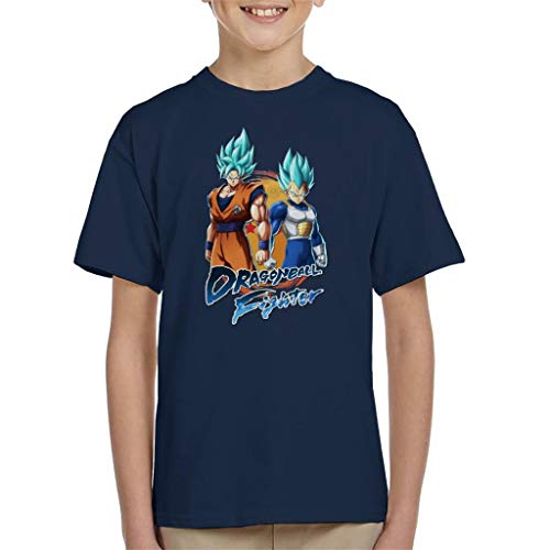 Cloud City 7 Dragon Ball Z Goku Vegeta Fighter Kid's T-Shirt
