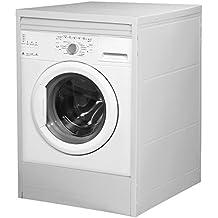 Divina Home Mobile coprilavatrice a serrandina in resina bianco lavatrice esterno DH53439