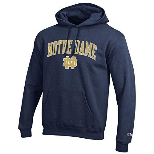Kapuzenpullover 84 Notre Dame Fighting Irish mit Arch Logo, Marineblau, Größe XL -