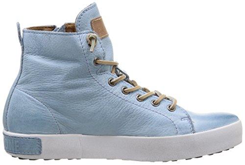 Blackstone Jl18, Baskets hautes femme Bleu - Blau (Sky Blue)