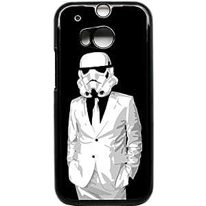HTC One M8étui pour téléphone portable Storm Trooper Star Wars Retor Design Vintage