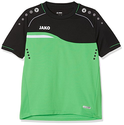 JAKO Herren T-Shirt Competition 2.0, Soft Green/schwarz, 36 -
