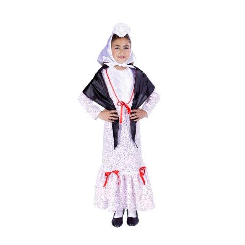 Nines d 'onil Export-Kostüm chulapita (D8332) (Nine D's Kostüm)