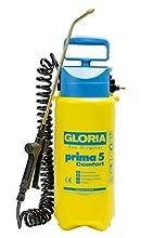 Gloria Prima 5 Comfort, Spruzzatore A Pressione da 5 Litri con Tubo Spirale da 2,5 m