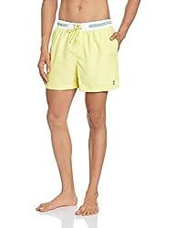 IZOD Mens Shorts (8907259732107_ZMST0009_36_Yellow)