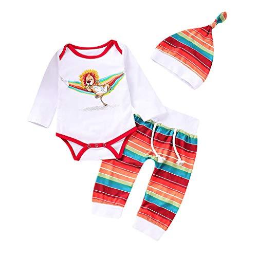Baby Kleider 0-24 Monat, Neugeborene Baby Mädchen Jungen Cartoon Kuh Arm Outfits SAMT Kapuzenoberteile Set