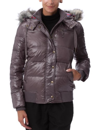 Quiksilver Capitan Canyon-Puffy Jacket Damen Daunenjacke Medium grau - grau