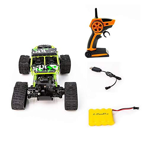 CHANNIKO-DE 1 to 18 S-001 Electric Four-Wheel Drive Snowmobile Wheel Model Crawlers Off Road Vehicle Toy Remote Control Car -