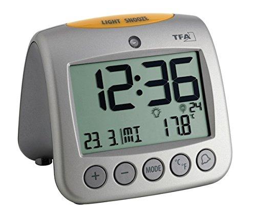 TFA 60.2514 Reloj Despertador Digital termómetro