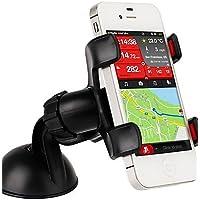 K-NVFA ziqiao universal de la rotación de 360 ??grados coche sostenedor del montaje para Samsung / HTC / iphone / gps , white KK-V- 6434